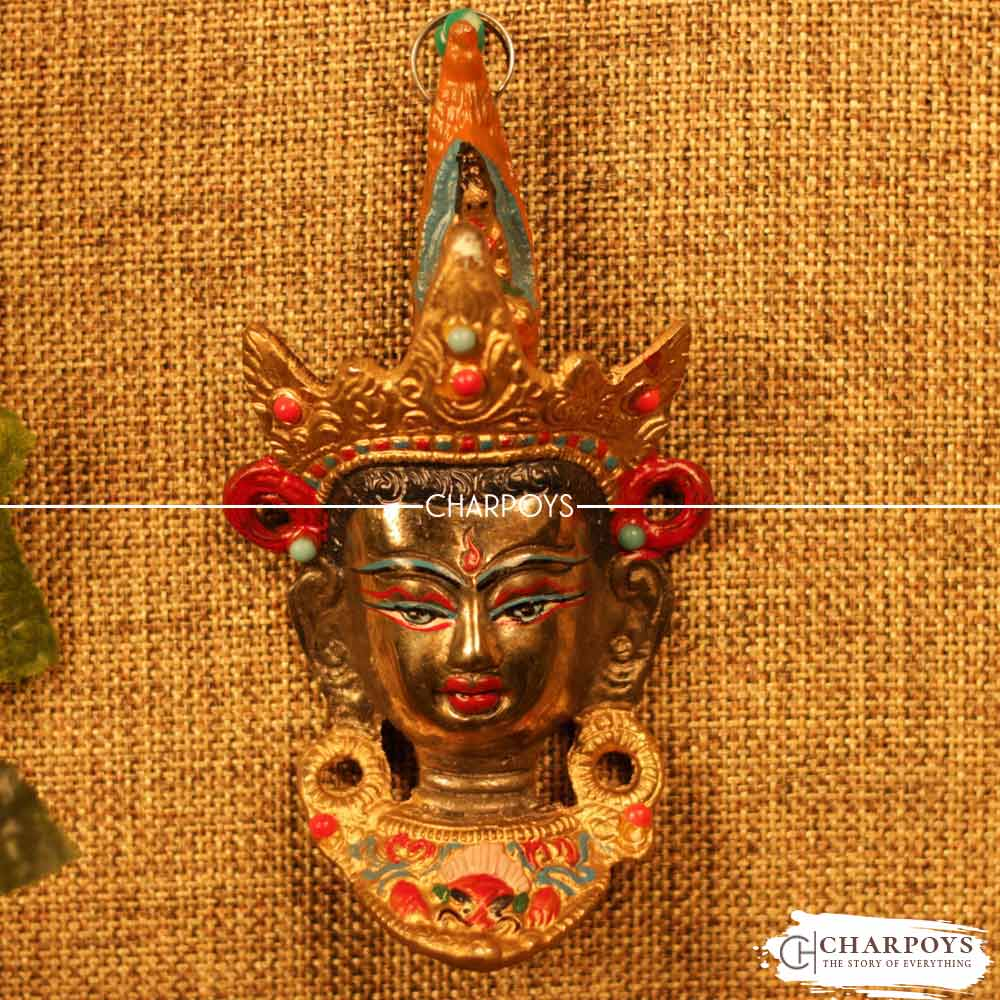 ANTIQUE MASK WALL HANGING