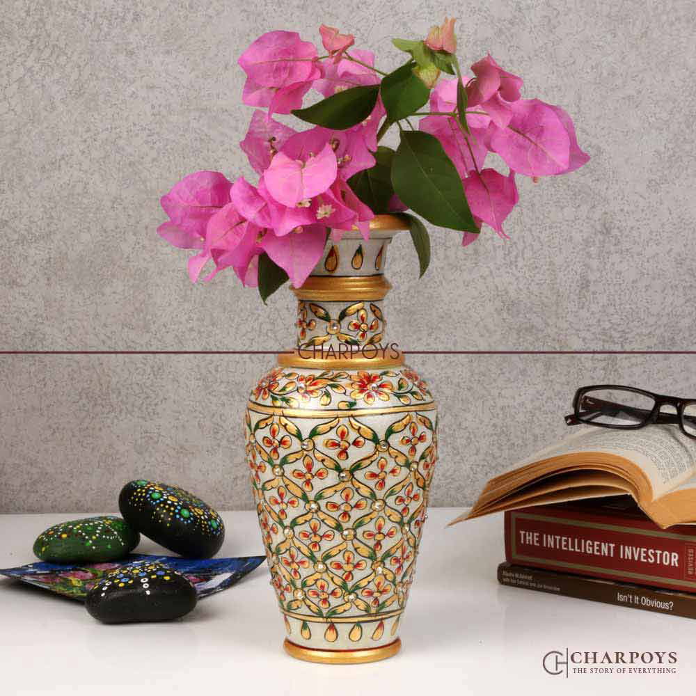 Marble Painted Pot