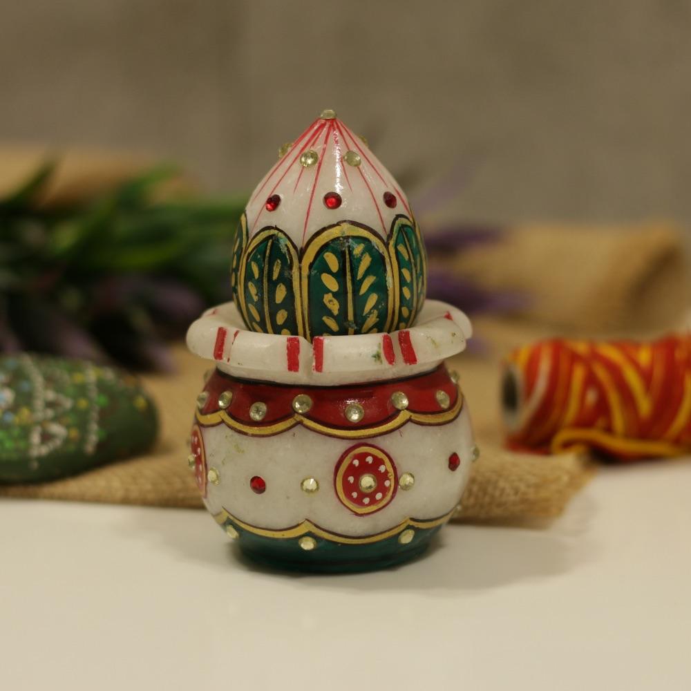 Marble Kalash Pot