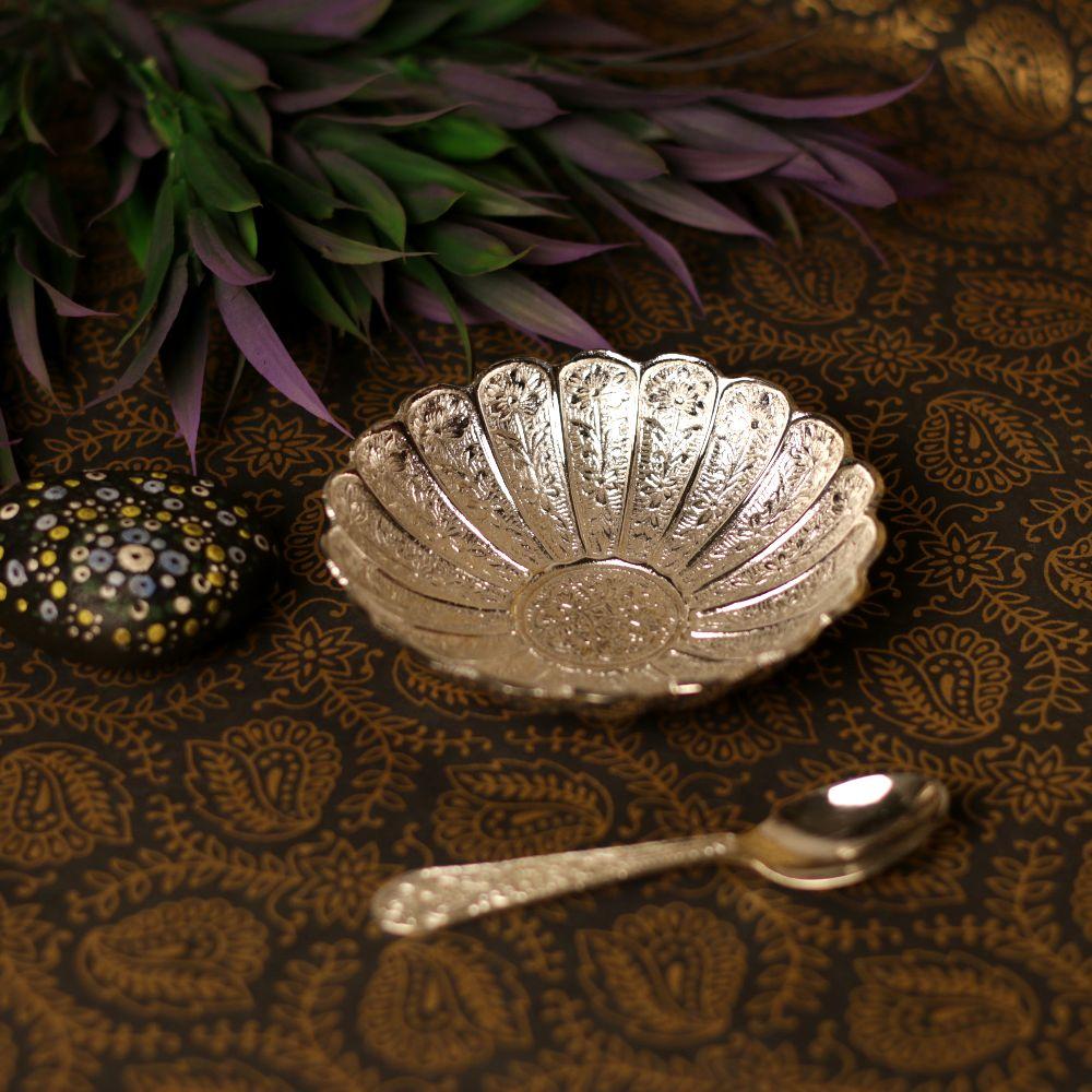 110 number german silver bowl