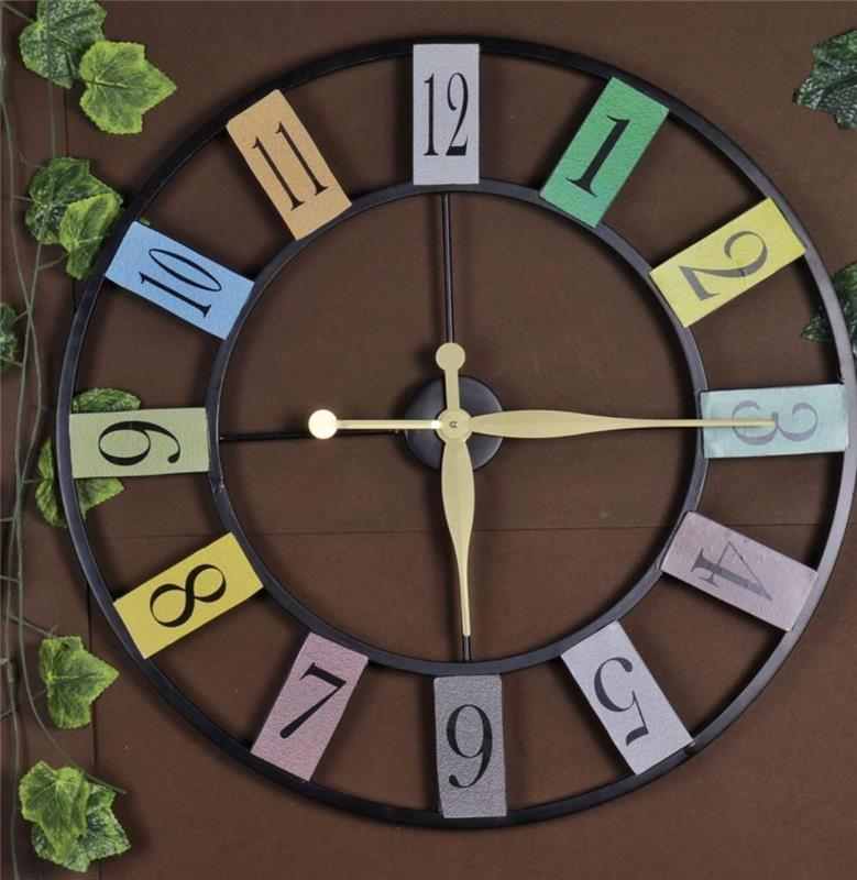 NUMBER WALL CLOCK 24 INCH